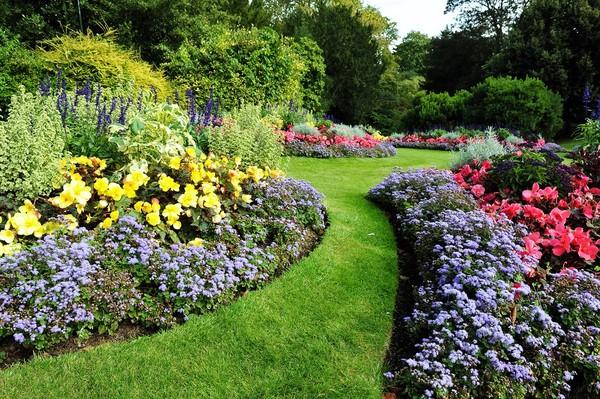 Barwne rabaty kwiatowe w ogrodzie galeria zdj for Gardening zones colorado